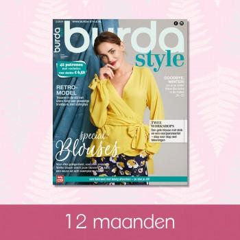 abonnement 12 maanden Burda Style