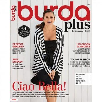 SP Burda Style PLUS Printemps / Eté 2016