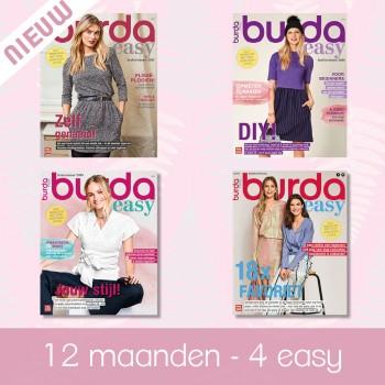 abonnement 12 maanden Burda Style Easy