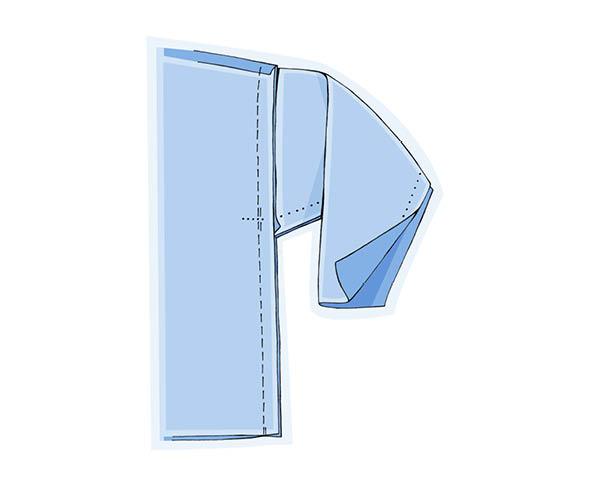 Étape 5 : attention au surplus de couture !